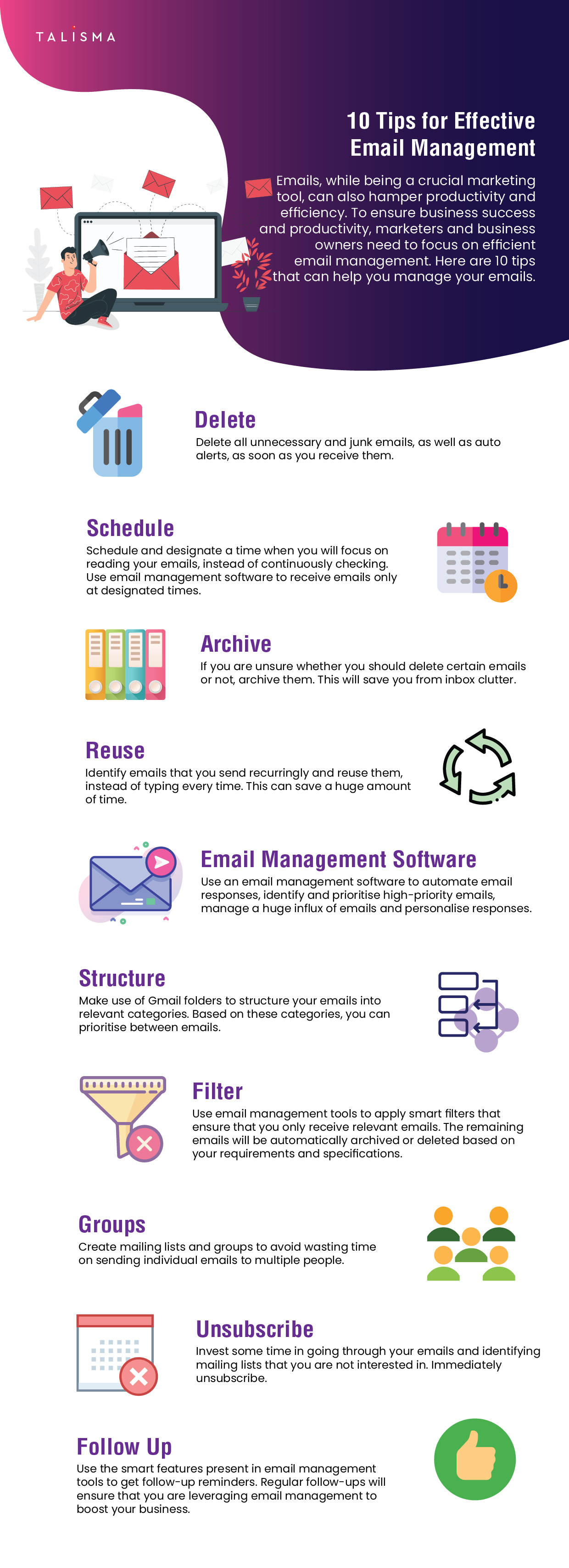 10 Tips for Effective Email Management